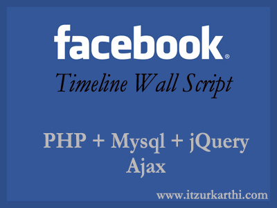 Facebook Timeline Wall Script 2 0 with PHP, Mysql, jQuery