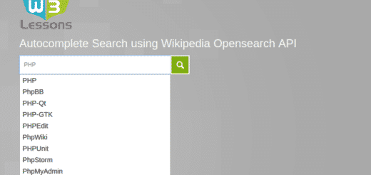 search box Archives - W3lessons Programming Blog