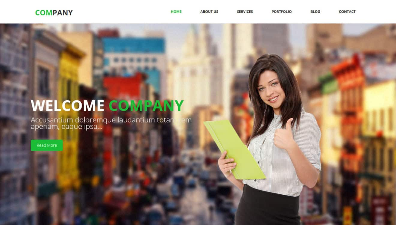 Top 10 Free Responsive HTML5 Bootstrap Website Templates of 2015